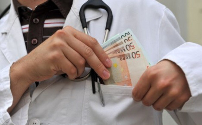 korupcija - zdravstvo