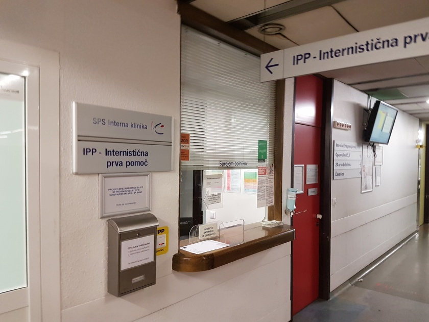 IPP UKC - pisarna sprejem bolnikov