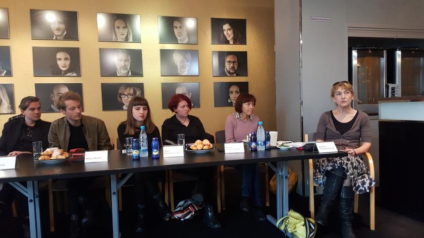 Novinarska konferenca MGL ob predstavitvi predstave Vrh Ledene gore