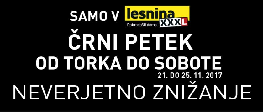 Črni petek popusti_Reklama LesninaXXXL_vir_Lesnina_XXXL