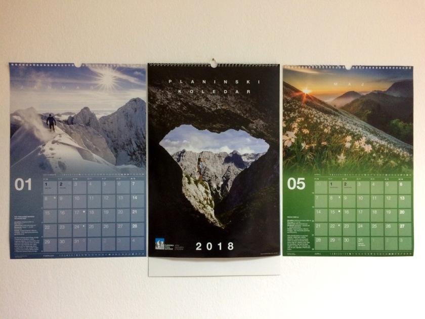 _Planinski koledar 2018 tudi letos v znamenju vrhunskih fotografij (foto Manca Čujež)
