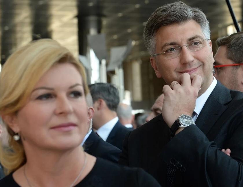 Kitarović in Plenković