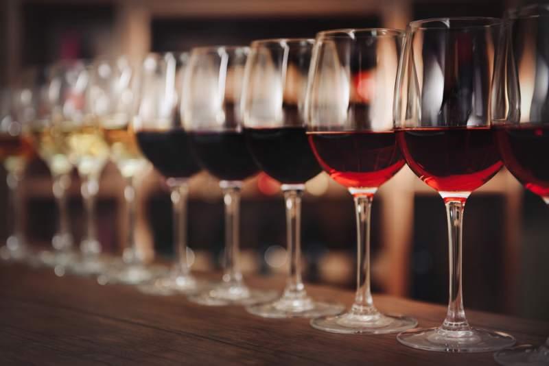 kozarci z vinom