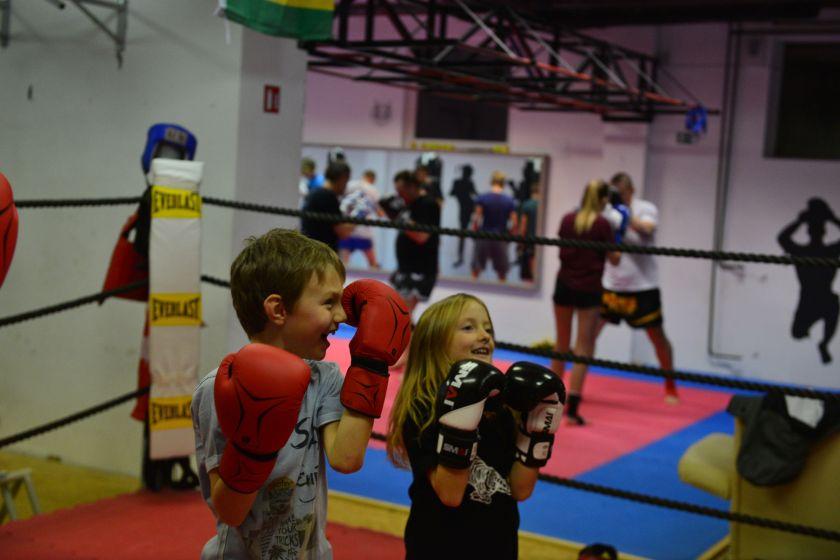 Delo z otroki je ena izmed prioritet kluba (Fotografija Anže Buh 2017)