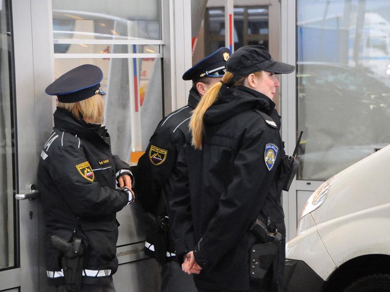 hrvaški policisti na sloveski meji