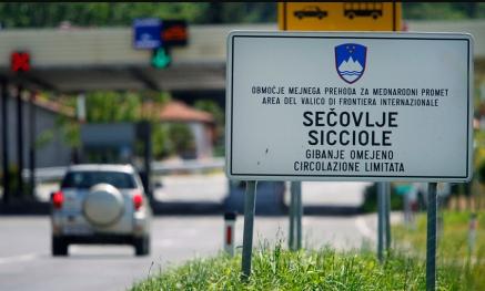 mejna točka Sečovlje Slovenija