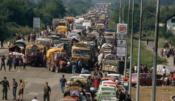 odhod Srbov iz Kninske krajine leta 1995 iz Hrvaške