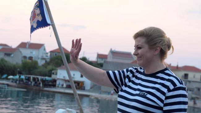 predsenica hrvaške Kolinda Kitarović