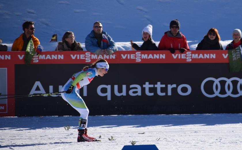 slovenska tekačica Planica 2018