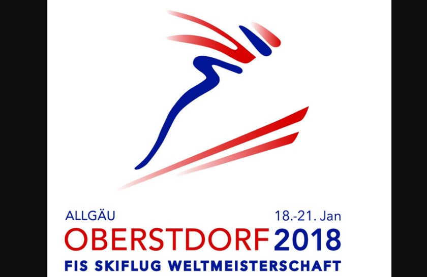 uradni logo SP 2018 v skokih v nemškem Oberstdorefu