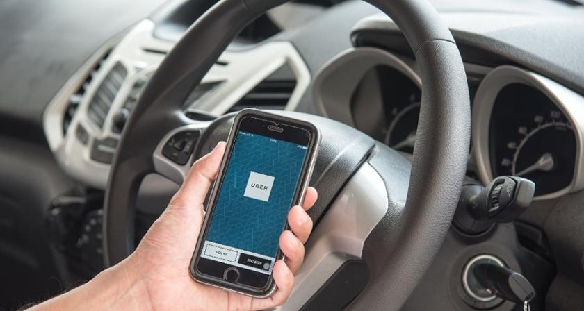 sistem Uber s telefonom