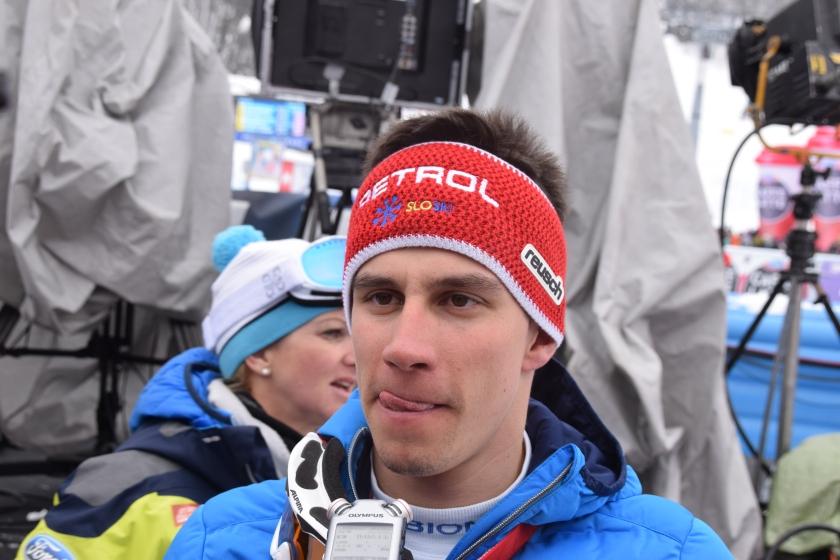 Žan Kranjec, slovenski smučar, ki je bil 5.