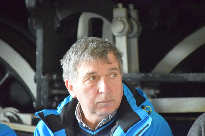Vodja tekmovanja Planica Jelko Gros