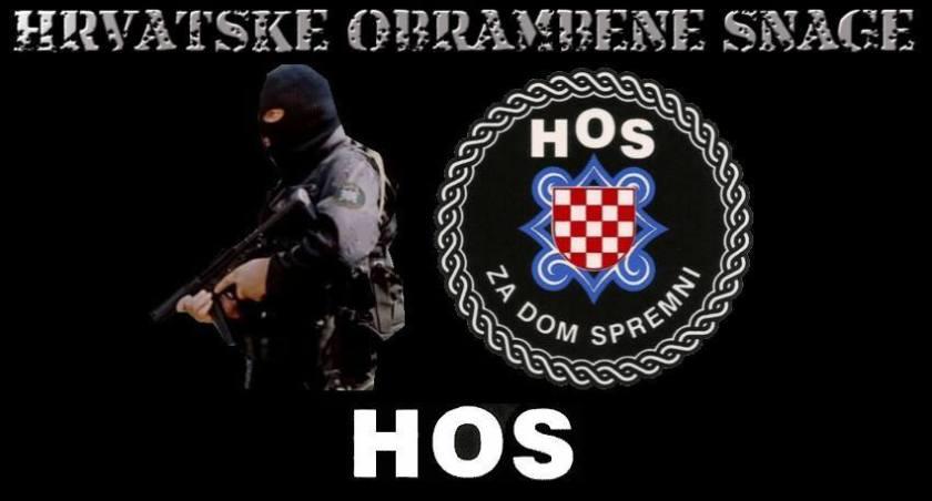 Znak hrvaške pravojske HOS