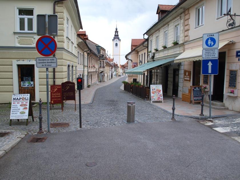 Kamnik stari del mestnega jedra imenovan Šutna