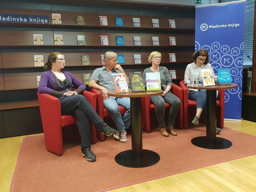 Novinarska konferenca ob predstavitvi knjižnih novosti za mlade bralce - Založba Mladinska knjiga