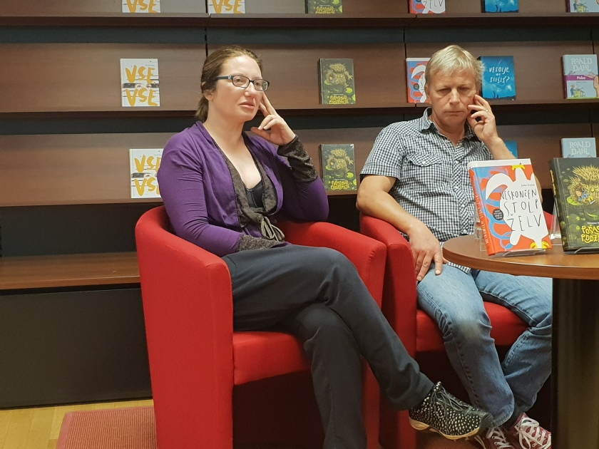Novinarska konferenca Mladinske knjige 25.5.2015