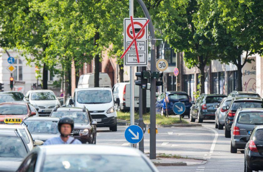 Hambur prepoved uporabe avtomobilov s pogonom na dizel