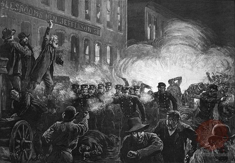 Prvi maj praznujemo v spomin na krvave proteste leta 1886 v Chicagu