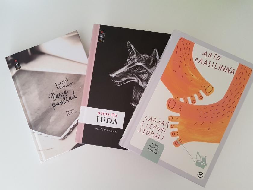 Knjige Mladinske knjige - Ladjar z lepimi stopali, Juda in Pasja pomlad