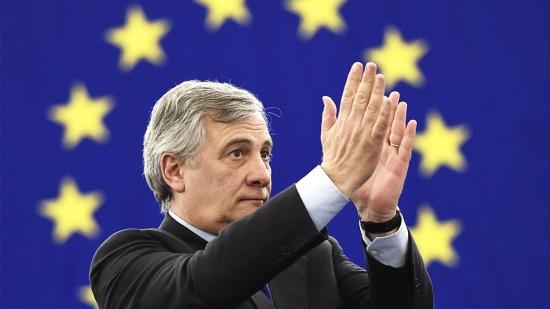 Antonio Tajani predsednik Evropskega parlameta