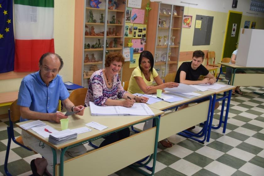 Volišče 6 Izola - volilna komisija