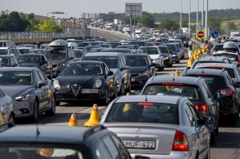 gneča na hrvaških avtocestah
