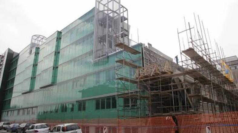 gradnja Pediatrične klinike v Ljubljani