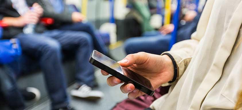 mobilni telefon uporaba