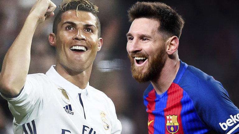 Ronaldo in Messi