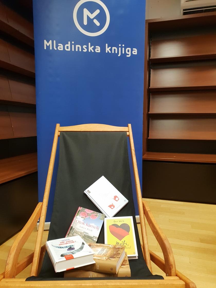 Novinarska konferenca predstavitev knjig MK  - poletno branja