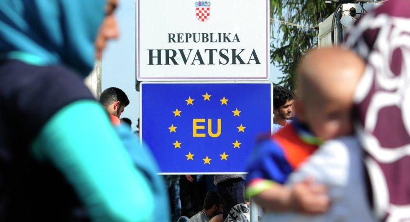 hrvaška meja migranti