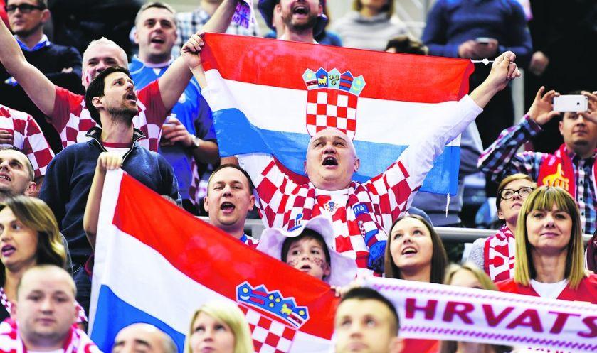 hrvaški navijači