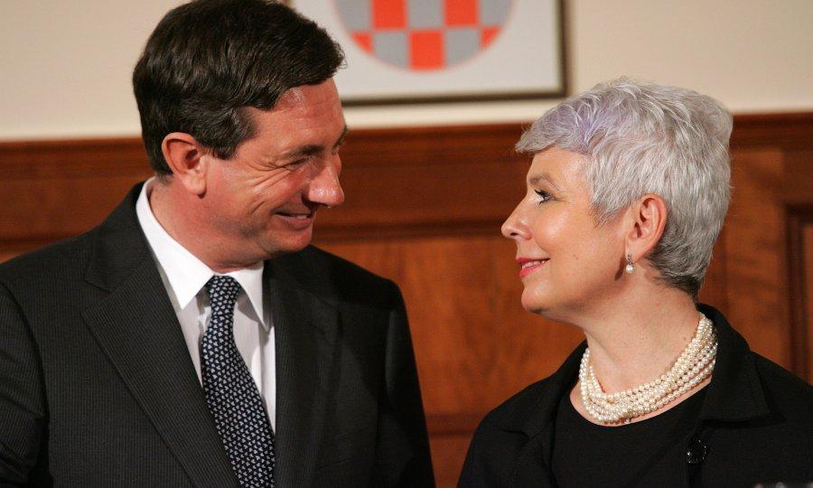 Jadranka Kosor in Brut Pahor