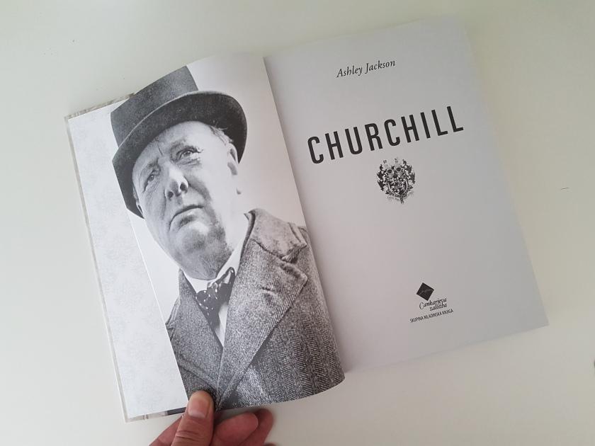 Knjiga Churchill - založnik Cankarjeva založba