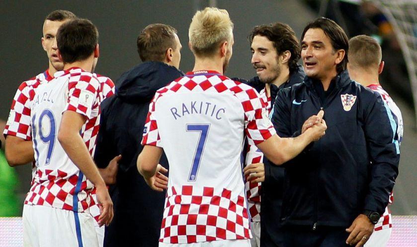 zlatko dalić selektor Hrvaške in nogometaši