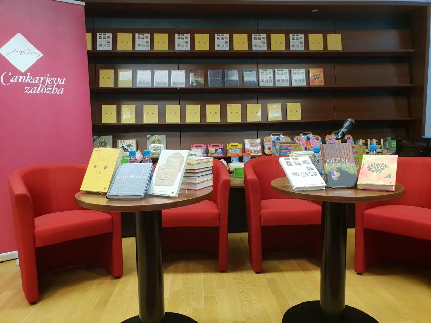 Šest knjižnih novosti Cankarjeve založbe
