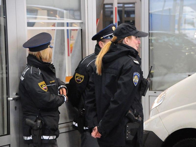 hrvaška policija na sloveski meji