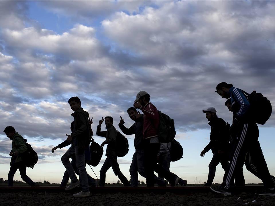 migranti na poti