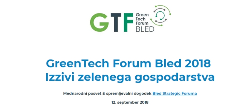 Logo - GreenTech Forum Bled 2018