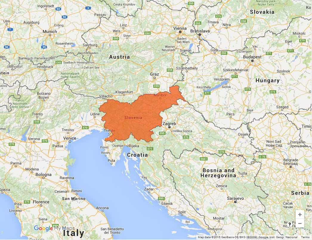 Slovenija in sosednje države