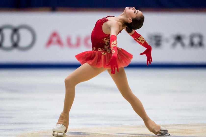 Rusinja Alina Zagitova, aktualna olimpijska prvakinja
