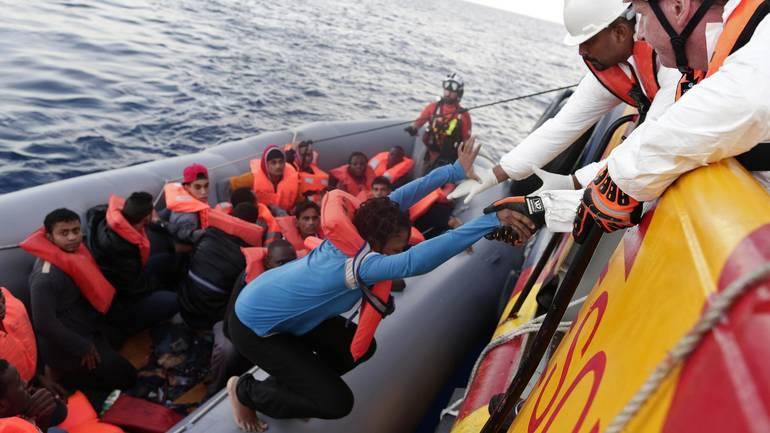 Libijski begunci - reševanje