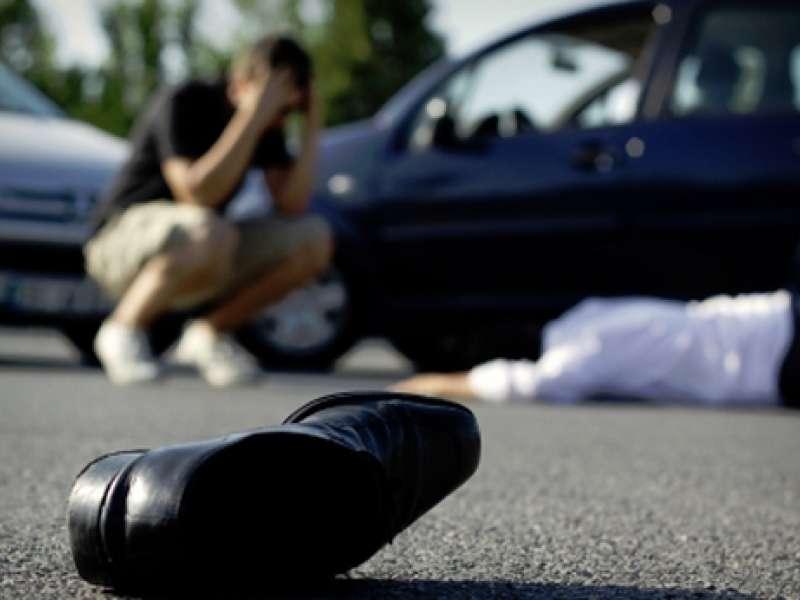 smrt pešca na cesti