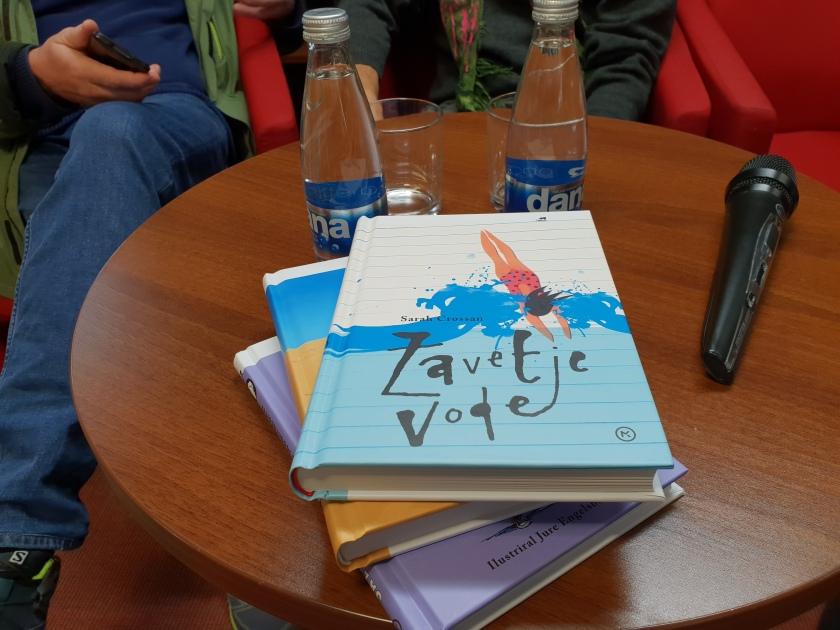 Predstavitev knjig založbe Mladinska knjiga, zbirka Odisej/Ljubljanske novice