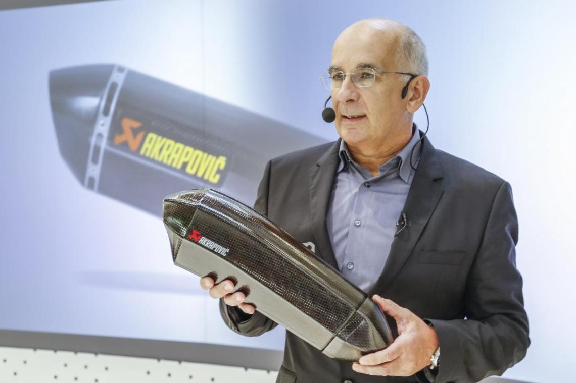 Igor Akrapovič, lastnik podjetja svetovno znanega podjetja Akrapovič