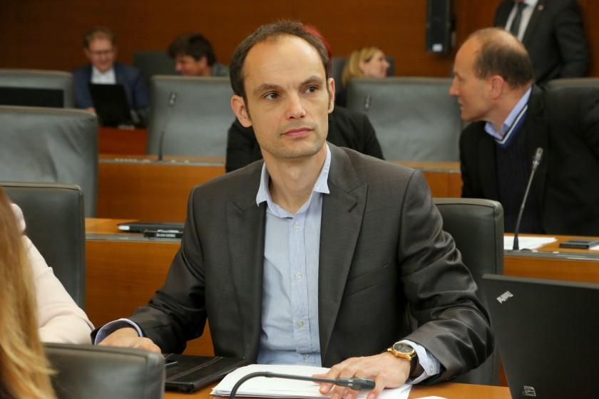 Anže Logar, član stranke SDS in kandidat za župana Ljubljane