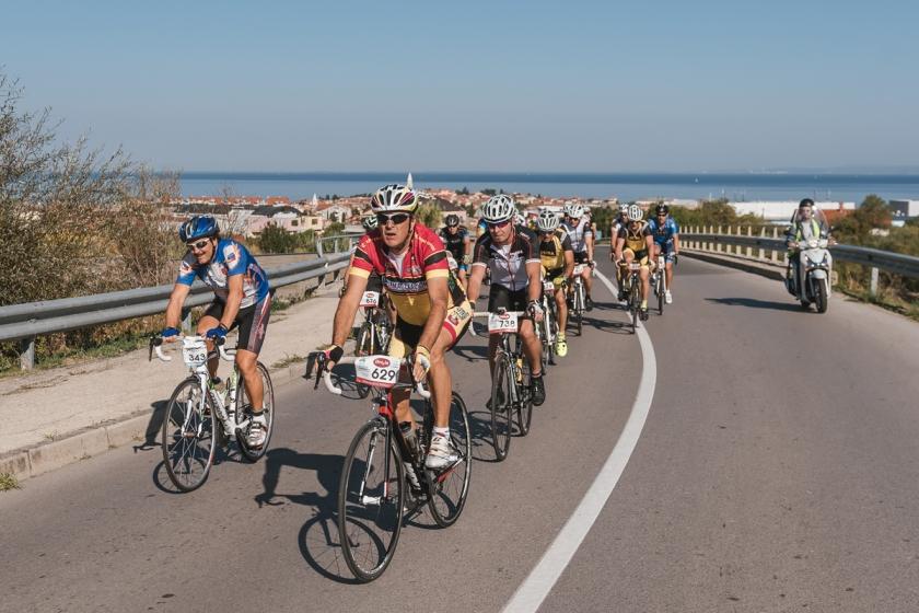 Na Istrskem kolesarskem maratonu/arhivska fitografija organizatorja