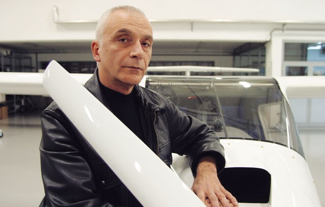 Ivo Boscarol, lastnik podjetja Pipistrel