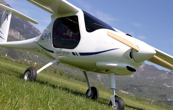 Ultra lahko letalo Alpha - proizvajalca Pipistrel